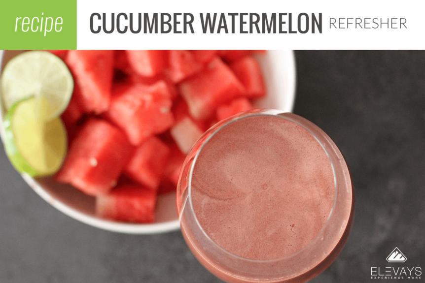Cucumber Watermelon Refresher
