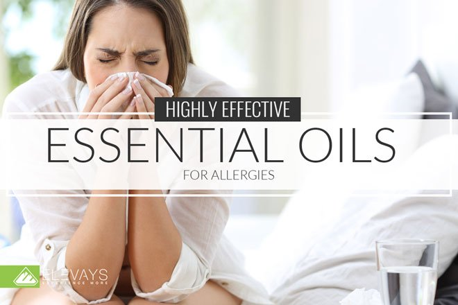 Tired of struggling with watery eyes and a stuffy nose every allergy season? Kiss those symptoms goodbye when one of these 8 essential oils for allergies. #allergies #essentialoils #naturalremedies