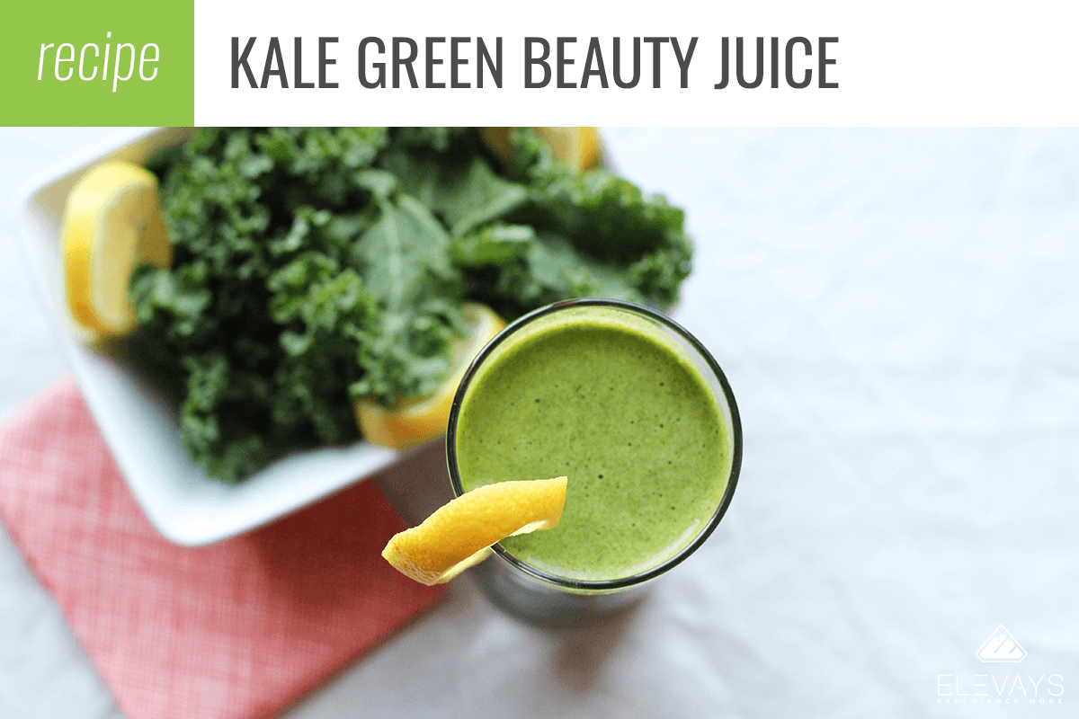 Kale Green Beauty Juice