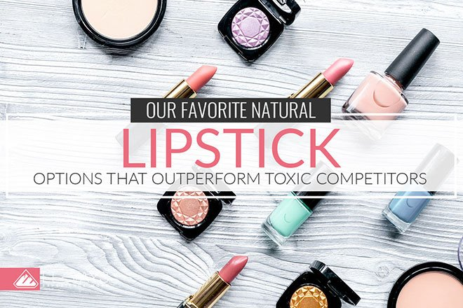 Natural makeup used to be a wash, especially when it came to natural lipstick! But times have changed and you can find natural lipstick in gorgeous shades with highly pigmented pops of color without exposing yourself to toxins. Check out this article for the best options.