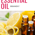 What are The Best Essential Oil Brands Pinterest Pin